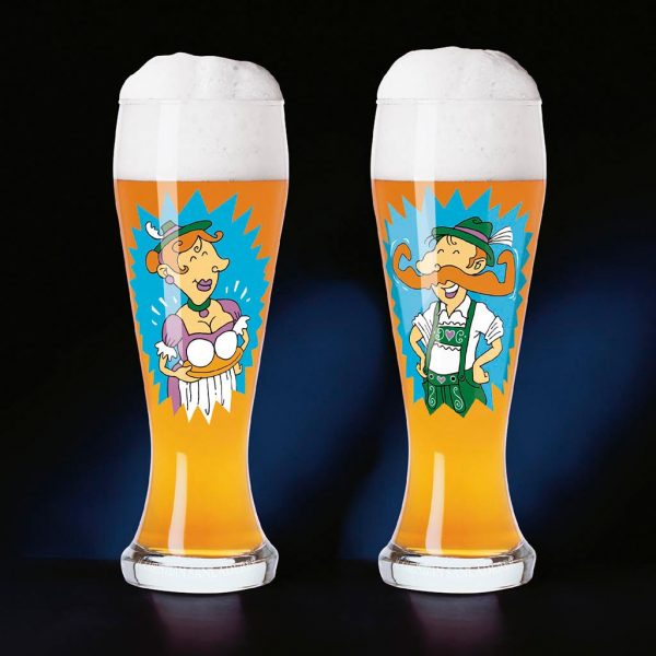 Produkt-Dekor, Weizen-Bier-Glas, Ritzenhoff
