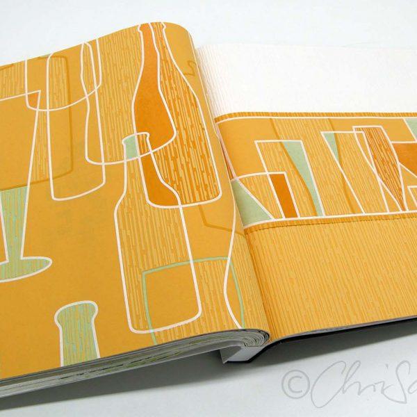 """Tapeten-Design, Flaschen & Gläser, """"Kitchen Dreams"""", A.S. Création Tapeten AG"""
