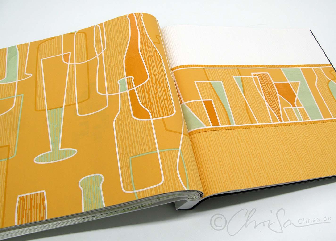 tapeten retro design elegant in tapeten im retro design