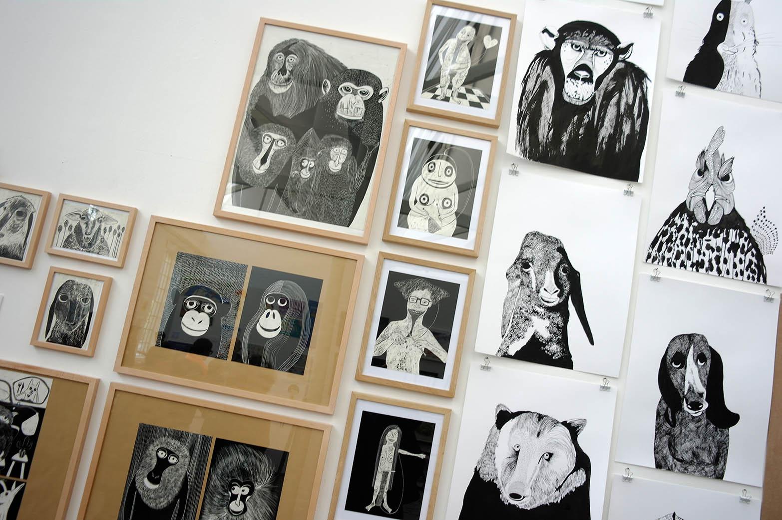illu16-illustratoren-festival-köln-affe-bär-hans-christian-sanladerer