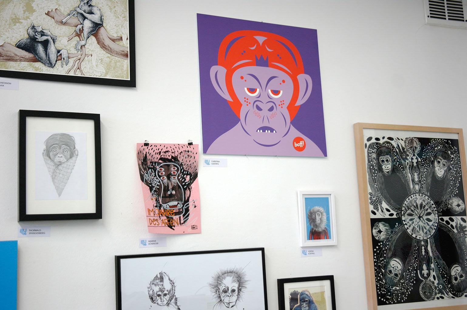 illu16-illustratoren-festival-köln-affe-hans-christian-sanladerer