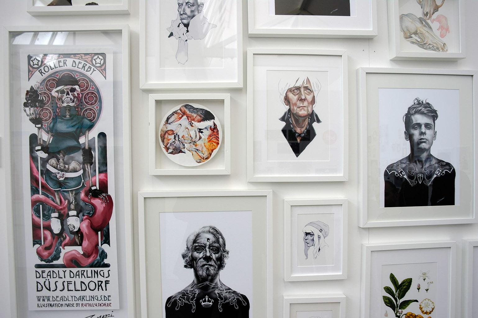 illu16-illustratoren-festival-köln-merkel-portrait-hans-christian-sanladerer