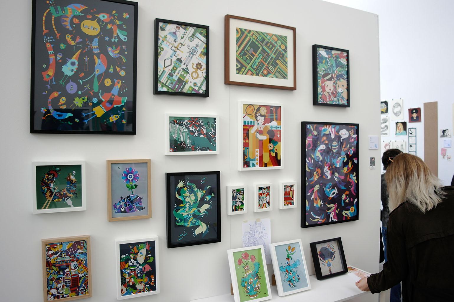 illu16-illustratoren-festival-köln-vögel-grafik-hans-christian-sanladerer
