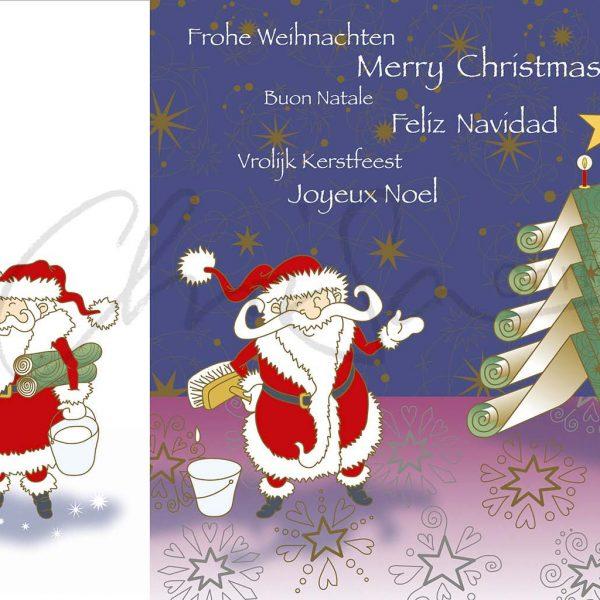 Weihnachtskarte für A.S. Création Tapeten AG