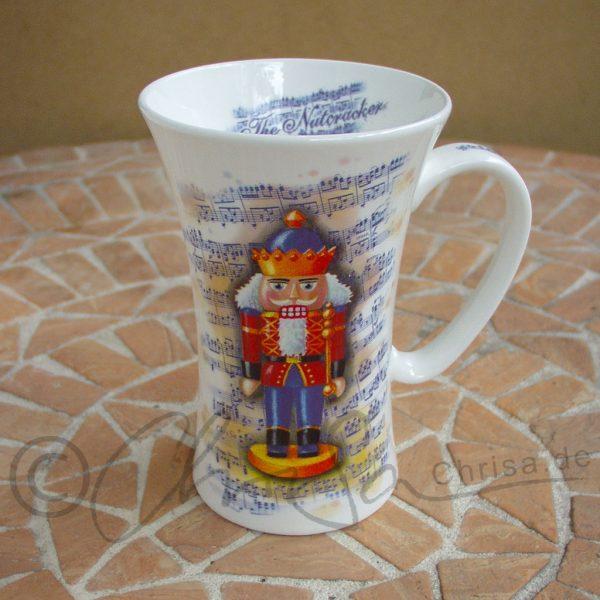 Produkt-Dekor, Porzellan-Kaffee-Tasse, Könitz Porzellan