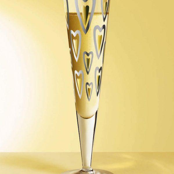 Produkt-Dekor, Champus,  Sekt-Glas, Ritzenhoff