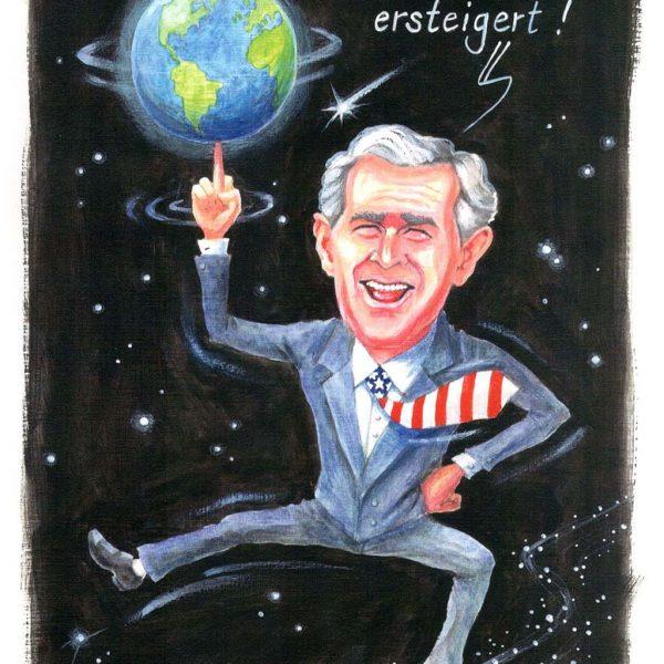 George Bush macht ein Schnäppchen ... 3 ...2 ...1... meins