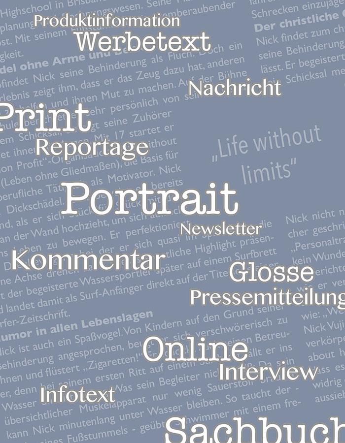Hans-Christian Sanladerer: Texte für Print und Online. Die journalistischen Genres im Überblick.